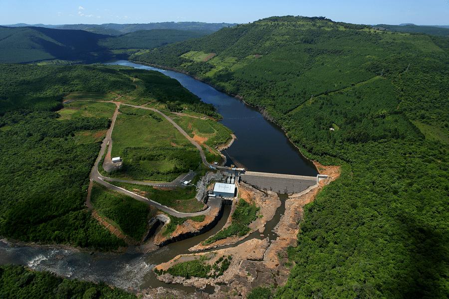 Pezzi hydropower plant, Rio Grande do Sul, Brazil