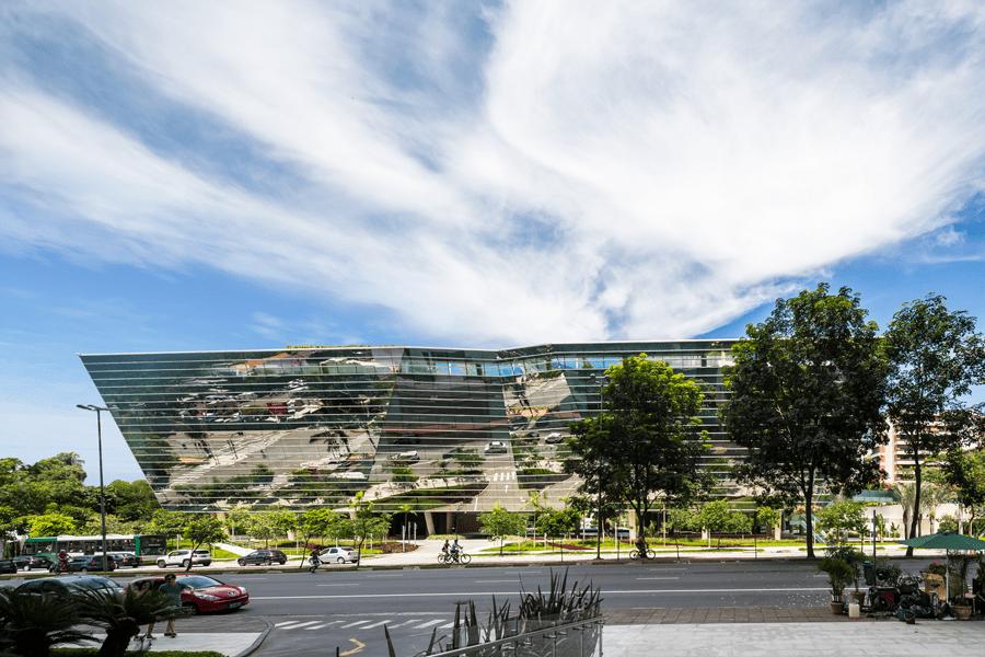 Faria Lima 3500 building, São Paulo, Brazil