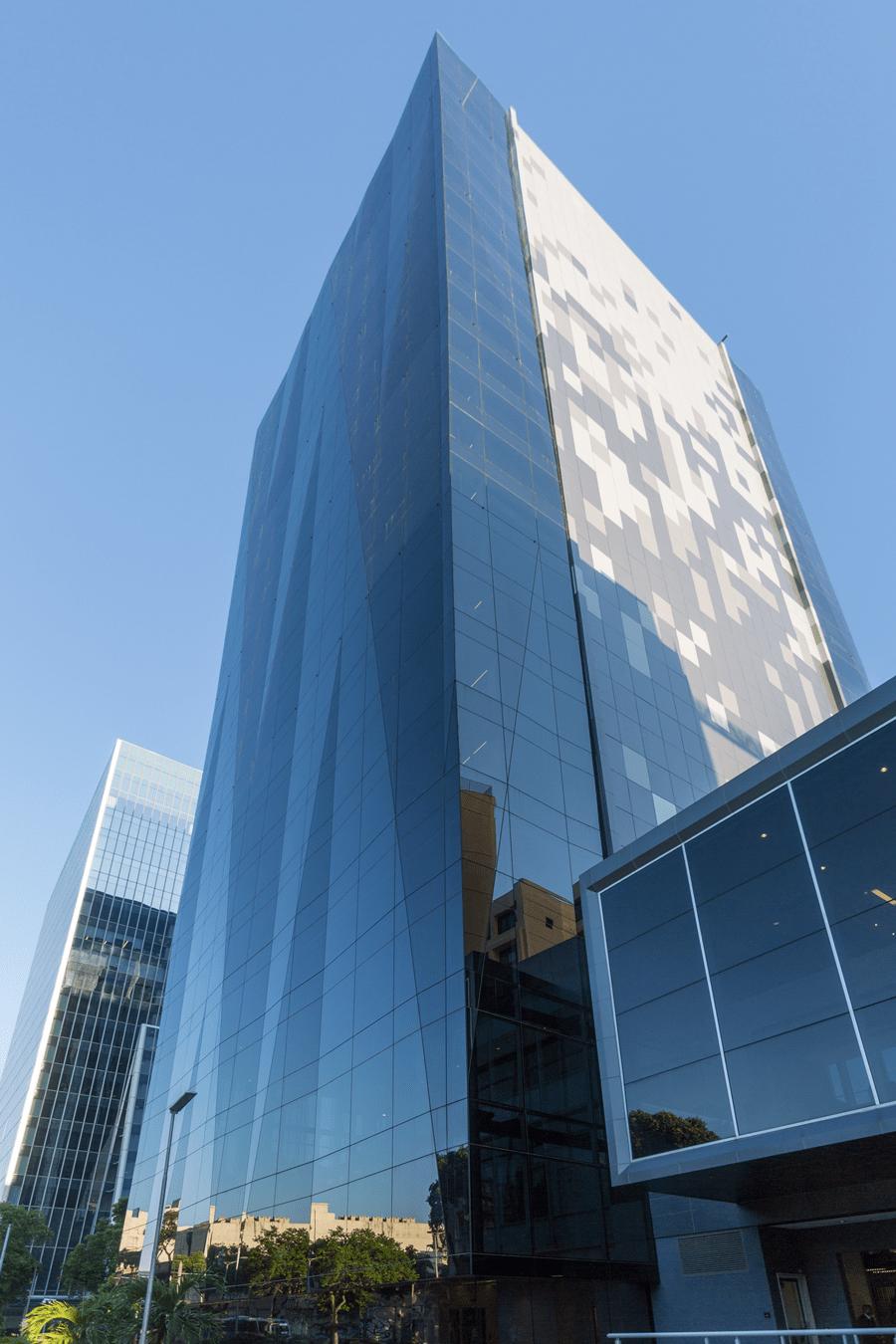 Facade of L'Oréal´s headquarters, Rio de Janeiro, Brazil