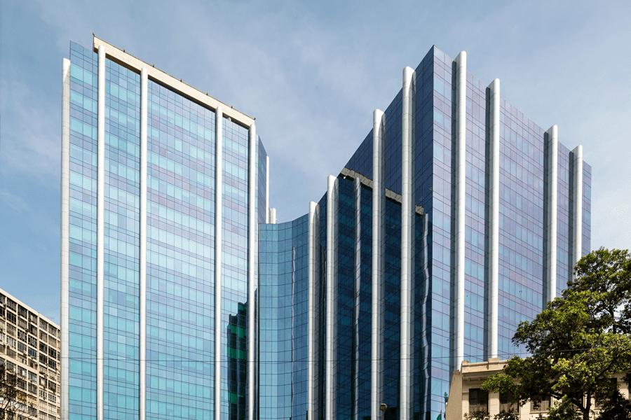 Fachada do Edifício Senado, Rio de Janeiro