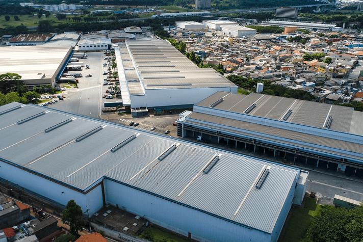 Centro logístico em Guarulhos, São Paulo
