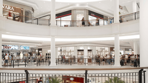 172 - shopping malls with approximately 14 million SQUARE METERS of gross leasable area