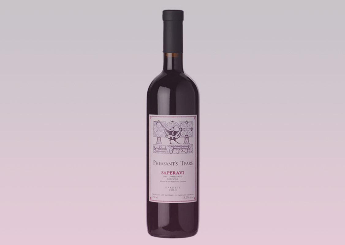 Pheasant's Tears - Saperavi grape
