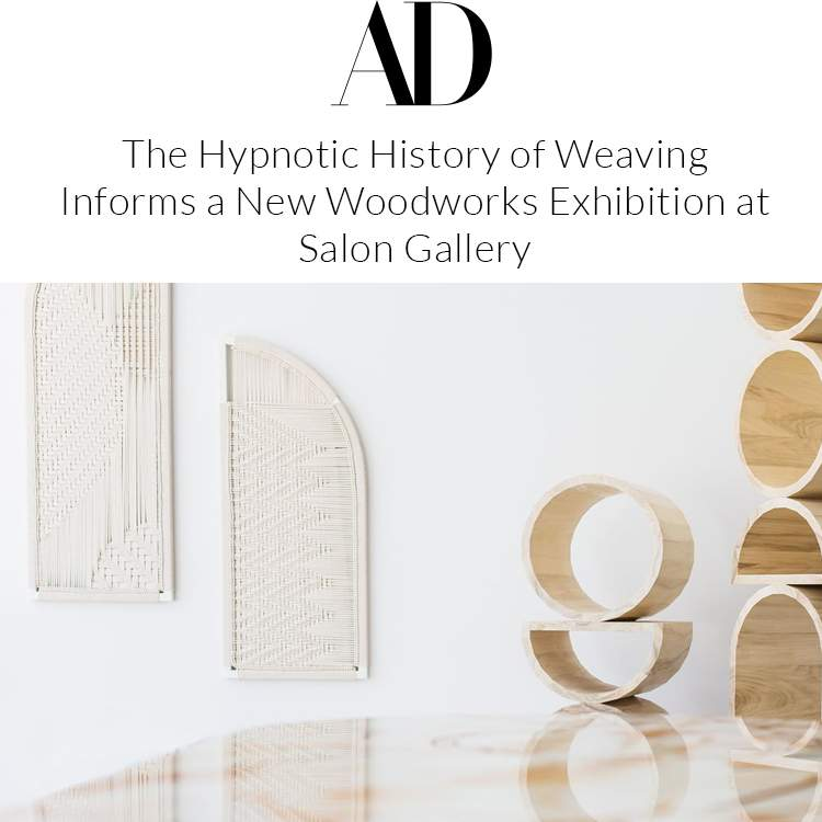 The Hypnotic History of Weaving Informs a New Woodworks Exhibition at Salon Gallery