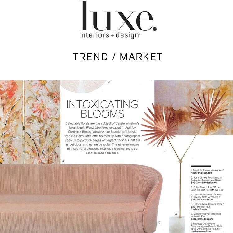 Luxe Magazine - Salon Design - Rosie Li Inez