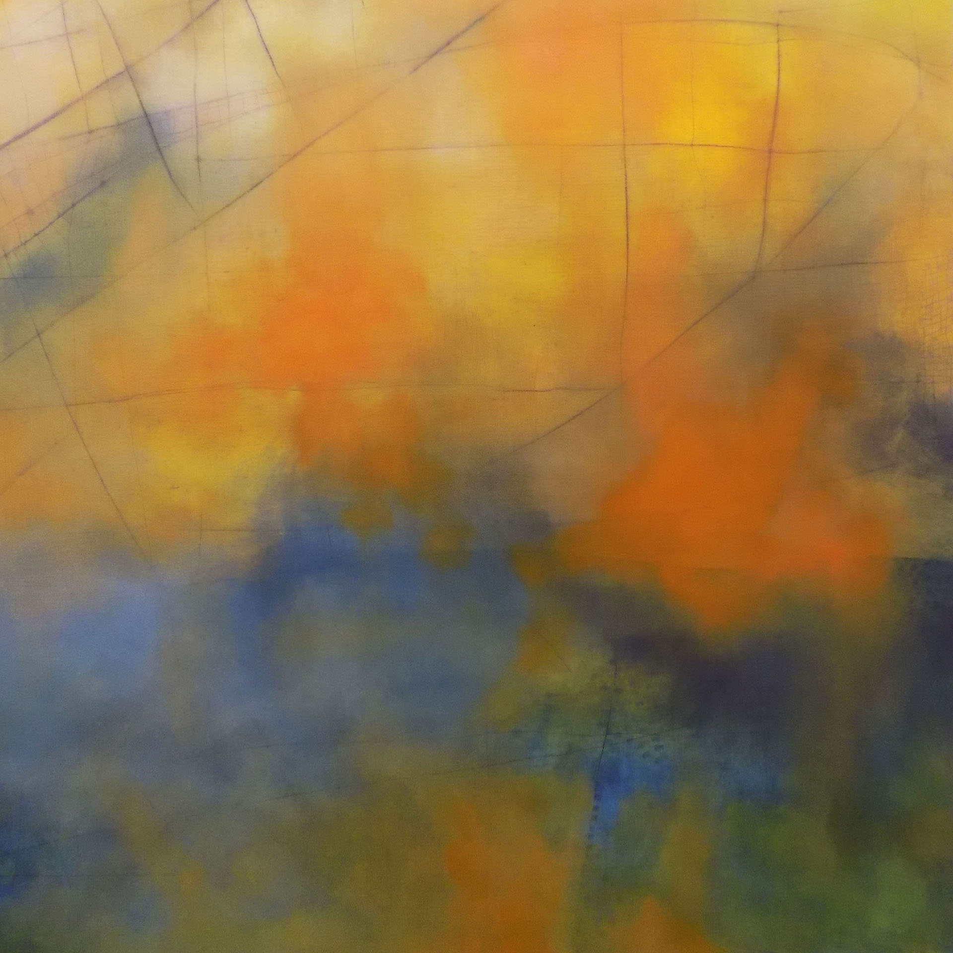 Droge.Michel_Water over The Bridge) 5ft x 5ft (1).jpg
