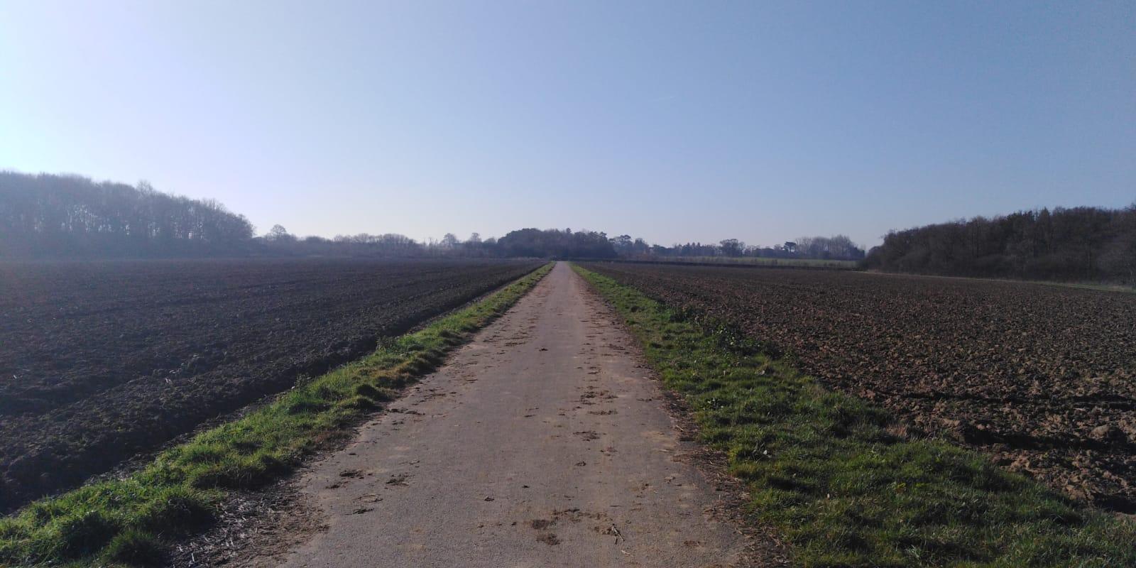 Skellingthorpe to Doddington on the sustrans