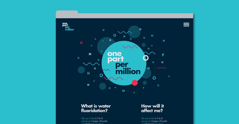 One Per million Microsite