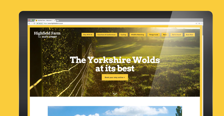 Highfield Farm Website