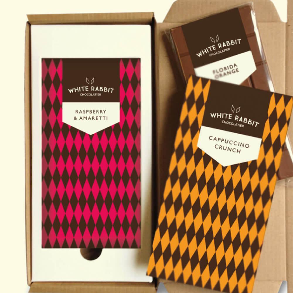 white rabbit chocolatier packaging Strawberrytoo