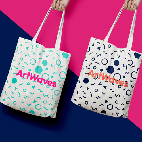 Artwaves Tote bags Strawberrytoo