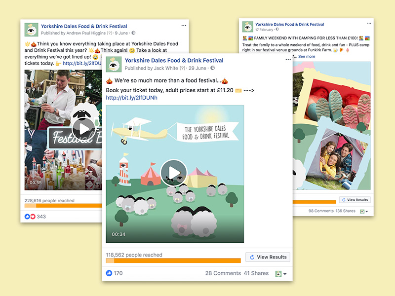 Advertising - It would be a bit pointless asking you if you wanted to promote your business effectively online, wouldn't it? Of course you do. And we can help you do just that with paid advertising.Whatever you set out to achieve, we'll put compelling content, striking designs and a strong call-to-action in front of the right audience at the right time to help you hit your target.