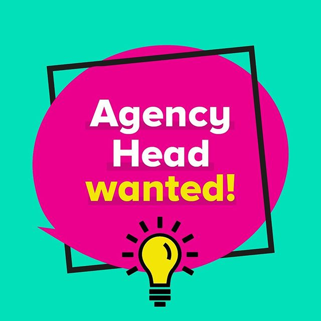 Want to run your own agency? ⁣⁣ ⁣⁣ We're looking for an 'Agency Head' to join our team. Someone with raw talent and insatiable hunger to be the best. Someone with a creative fire in their belly, that relishes pushing the boundaries. Someone who can meet never-ending challenges with intelligent and unexpected solutions.⁣⁣ ⁣⁣ Now's a great time to join us. StrawberryToo is always improving and growing, and we want a like-minded ambitious type to be the driving force behind our successful agency. If you have ideas and a voice, make it heard with us. ⁣⁣ ⁣⁣ It's time to step-up to the plate. Apply now    link in bio.⁠⠀⁣⁣