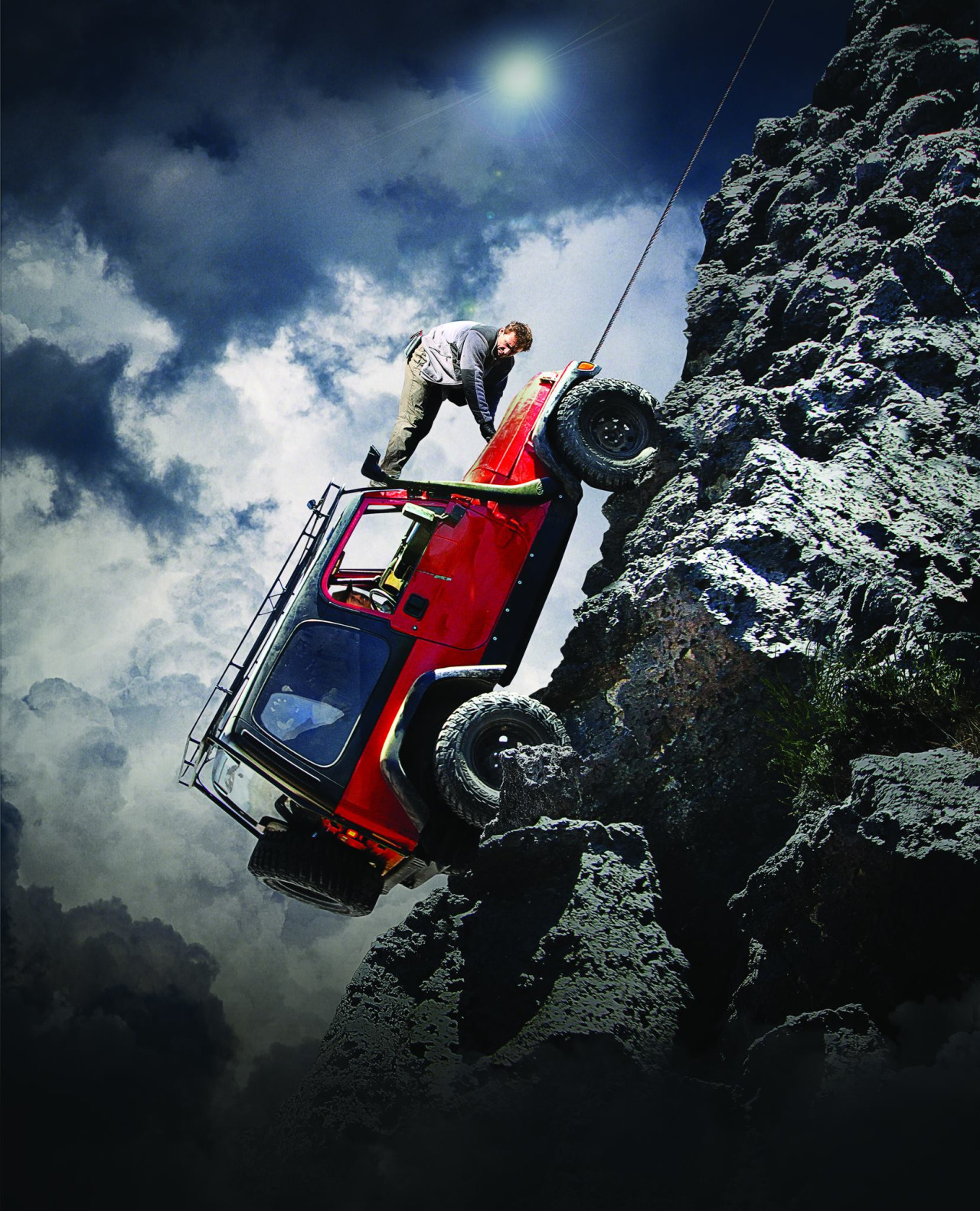A defining moment and fitting finale to my shoot for Car vs Wild. We literally winched all two tonnes of the jeep 'Ruby' up a vertical lava wall in the middle of Mexico's Sonoran desert.