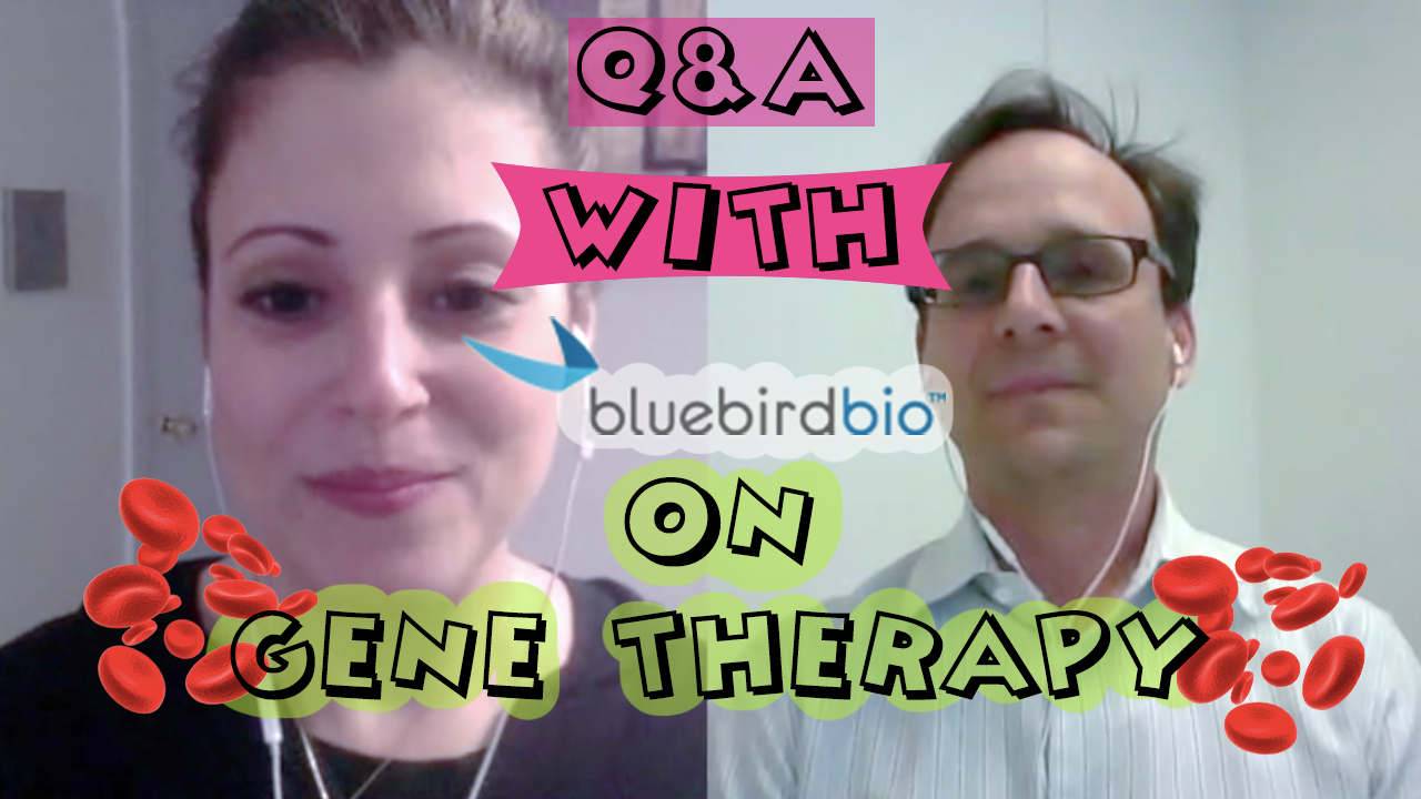 Josephine Bila speaks with Dr. Rob Ross of Bluebird Bio on their gene therapy trials for thalassemia