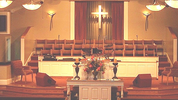 Church Sanctuary - Brighter colors and cleaner lines
