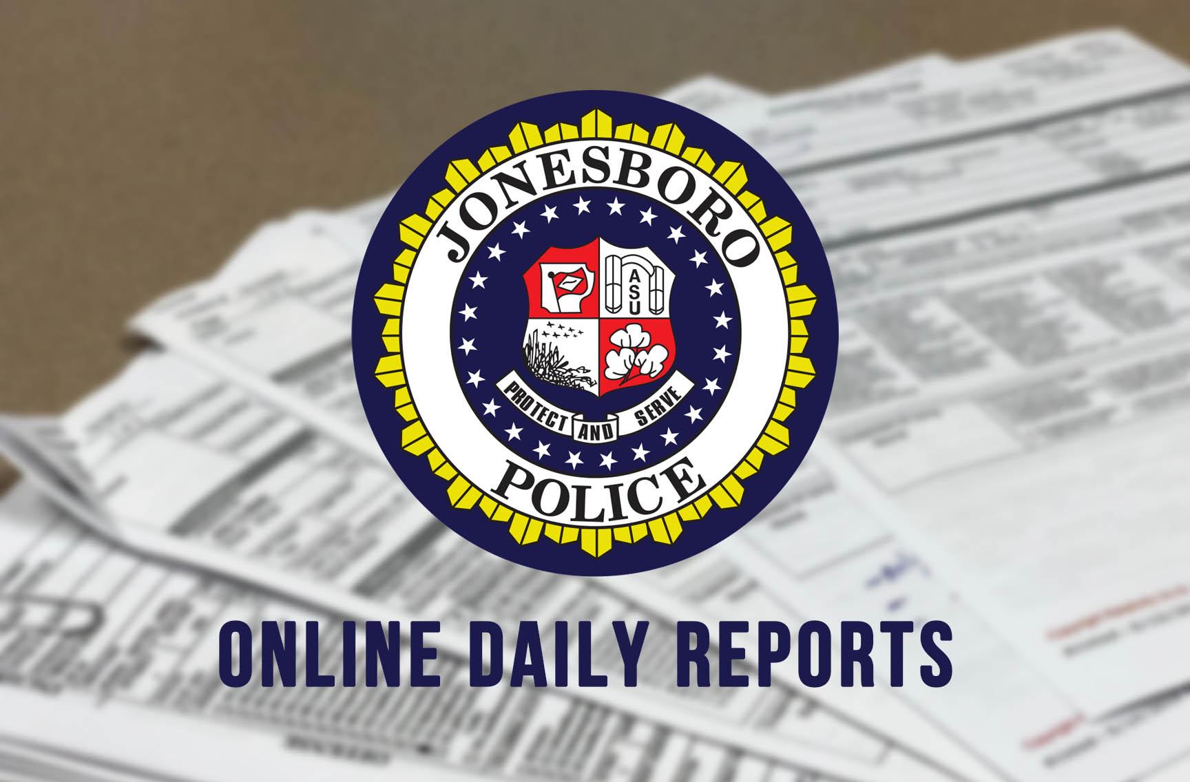 View Daily Police Reports Online — Jonesboro Police Department