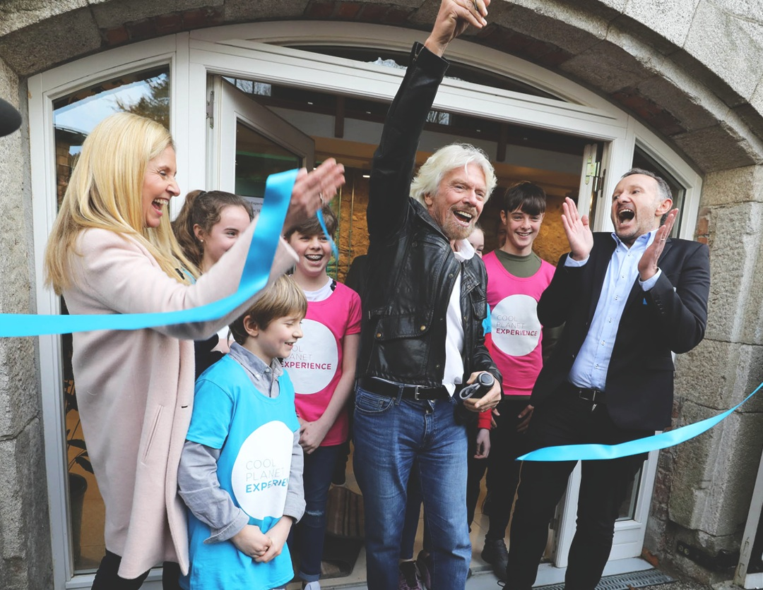 Richard Branson Cool Planet Experience