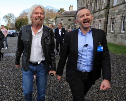 Richard Branson cuts ribbon on Wicklow climate change visitor centre