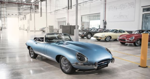 Electrifi signs €40m deal to build electric Jaguar E-Types
