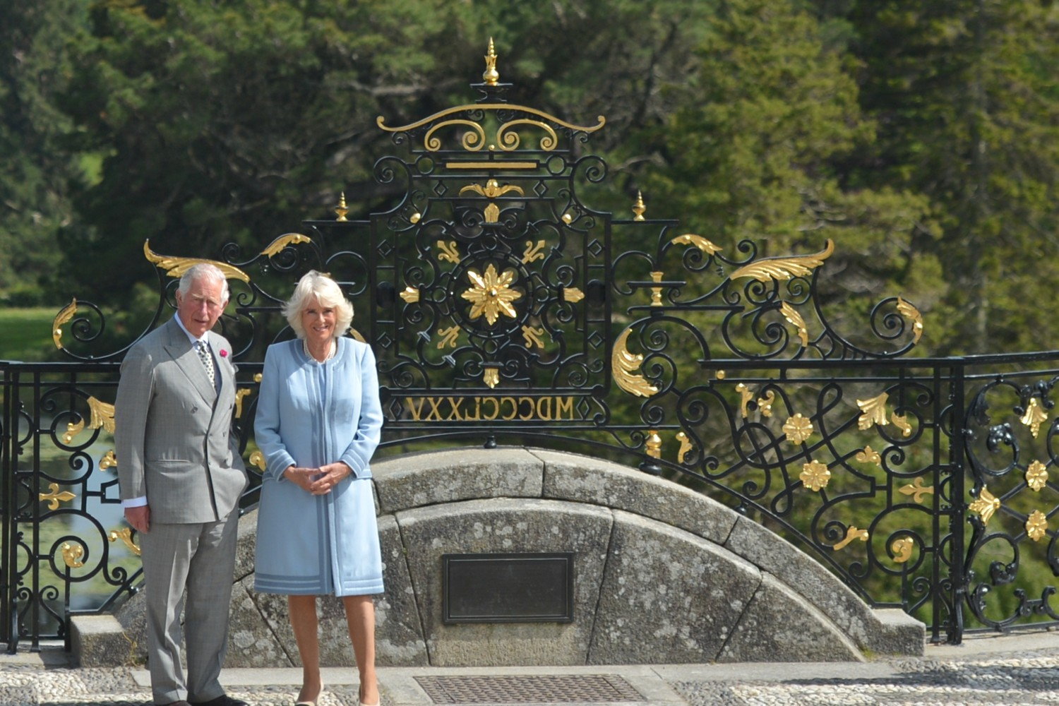 The Prince of Wales is in the throes of a love affair with this country