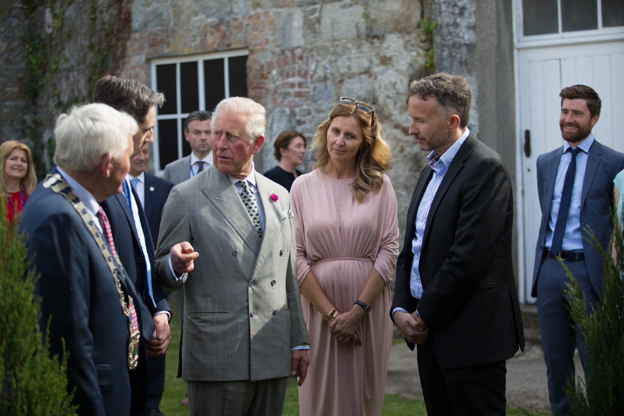 Prince of Wales enjoys a cool experience thanks to Norman