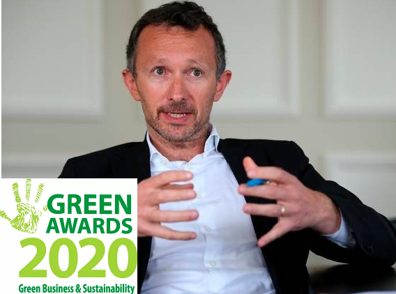 Norman Crowley wins Green Leader Award 2019