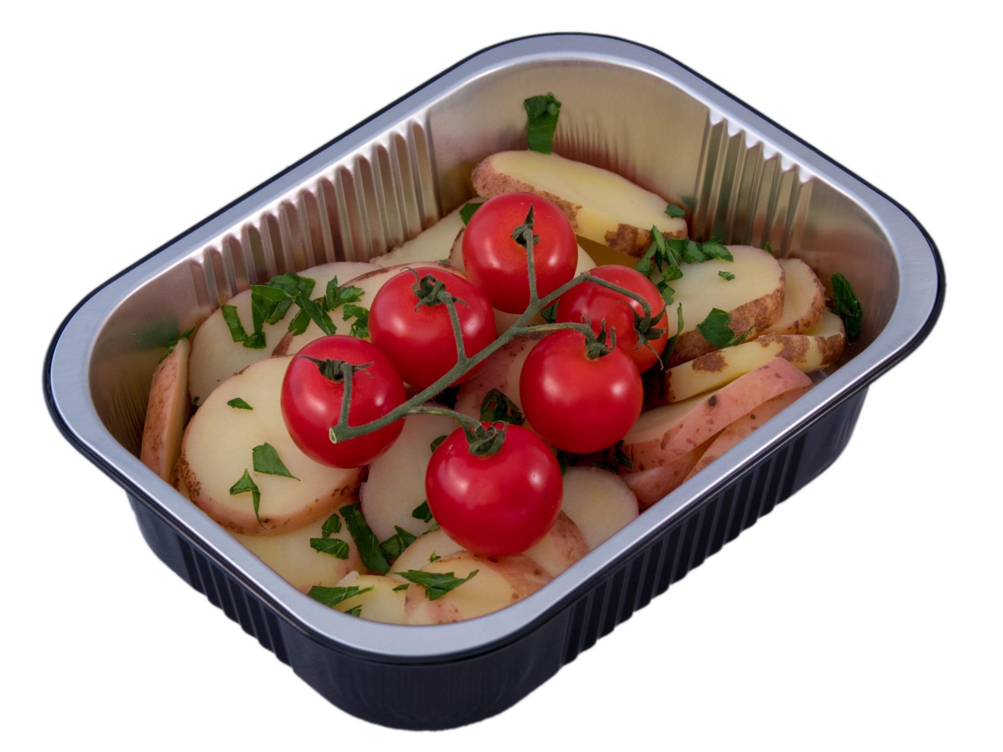 Alu aardappels trostomaat
