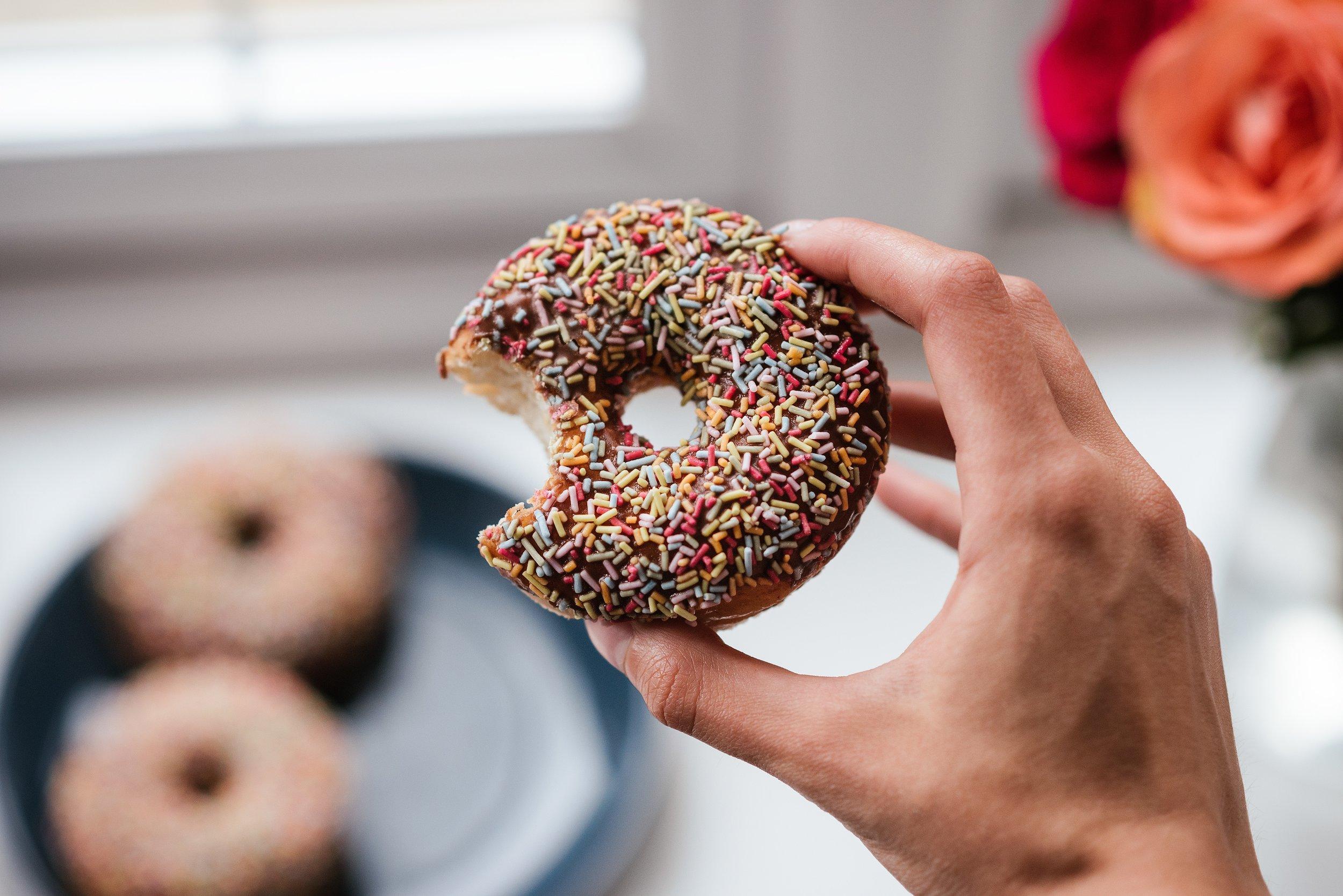 Donut for breakfast
