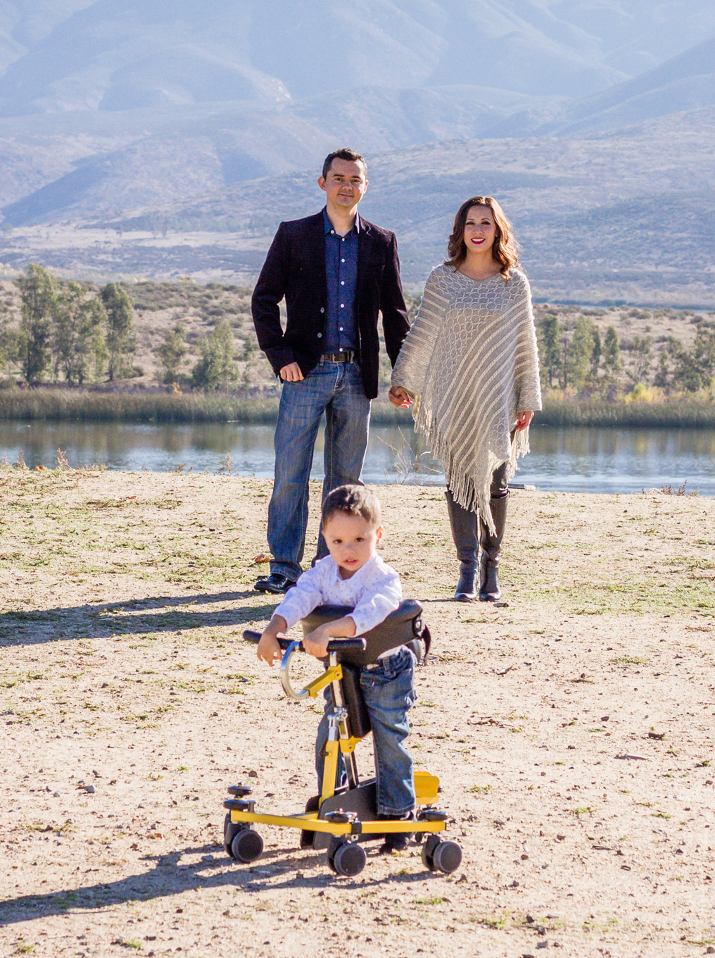 PMD Foundation board member, Carlos Labrada with his wife, Yezabel and their son Leo, who was diagnosed with PMD at 6 months of age.