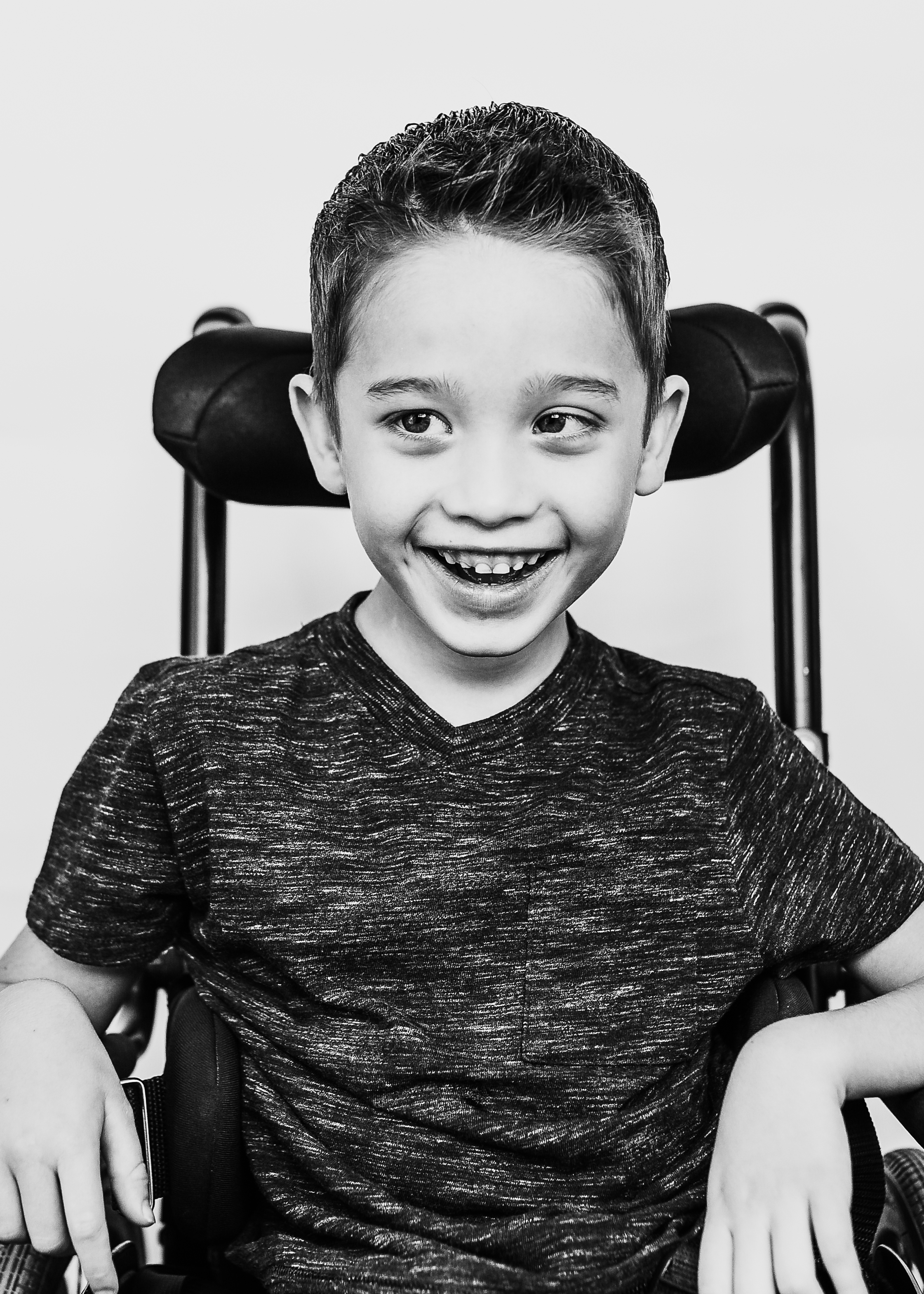 Camden Holmes was diagnosed with PMD at 13-months of age.