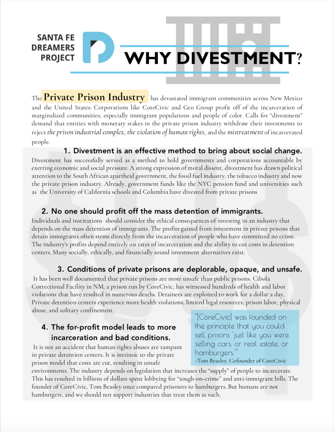 Why Divestment?