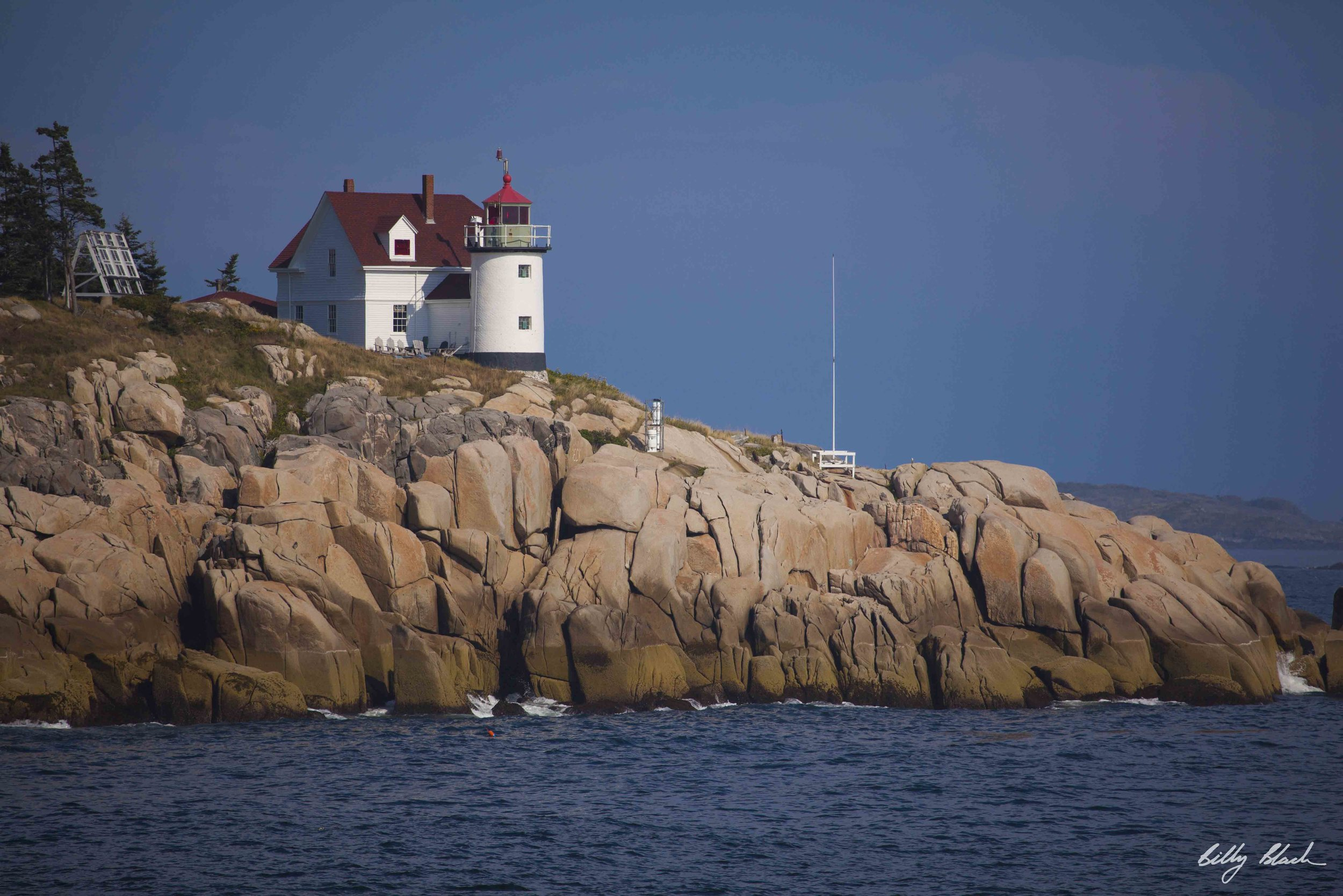 Penobscott Bay near Vinalhavan, Maine.