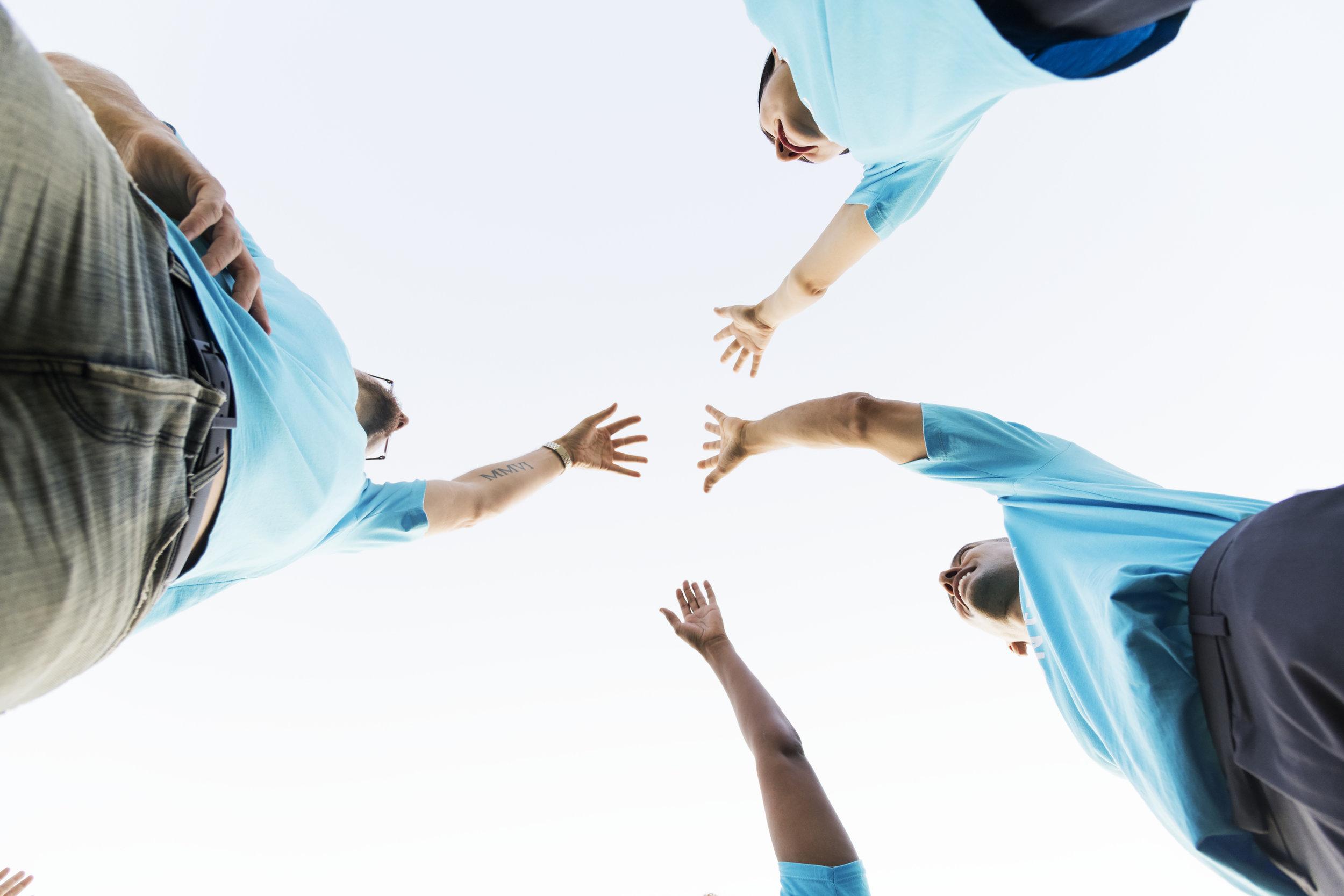 Engaged 448 Volunteers -