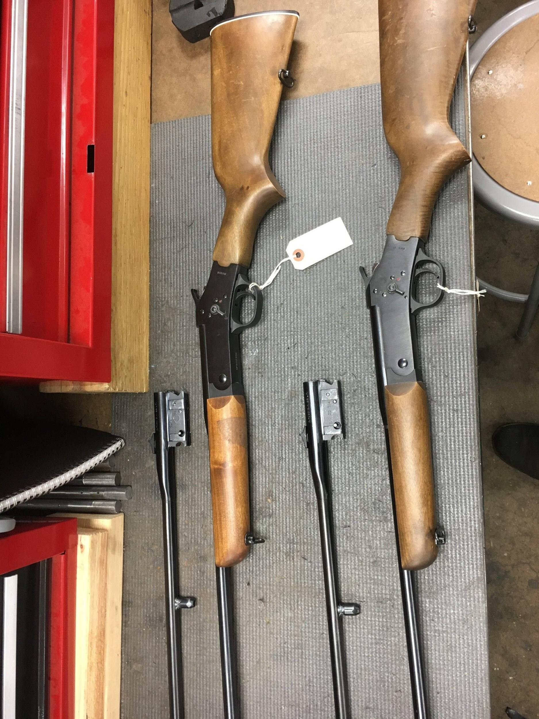 Matching Rifles Before
