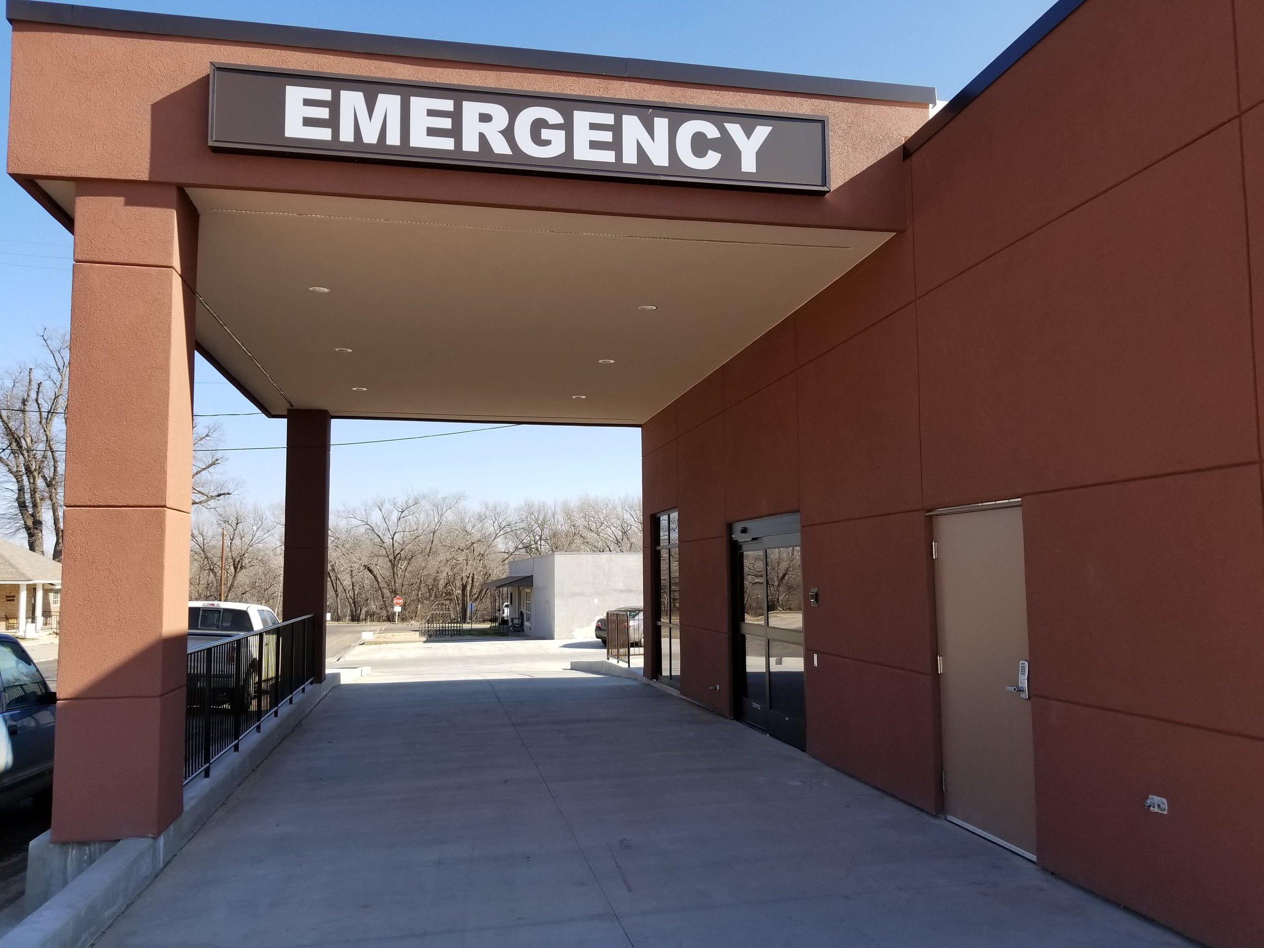 New Emergency Entrance