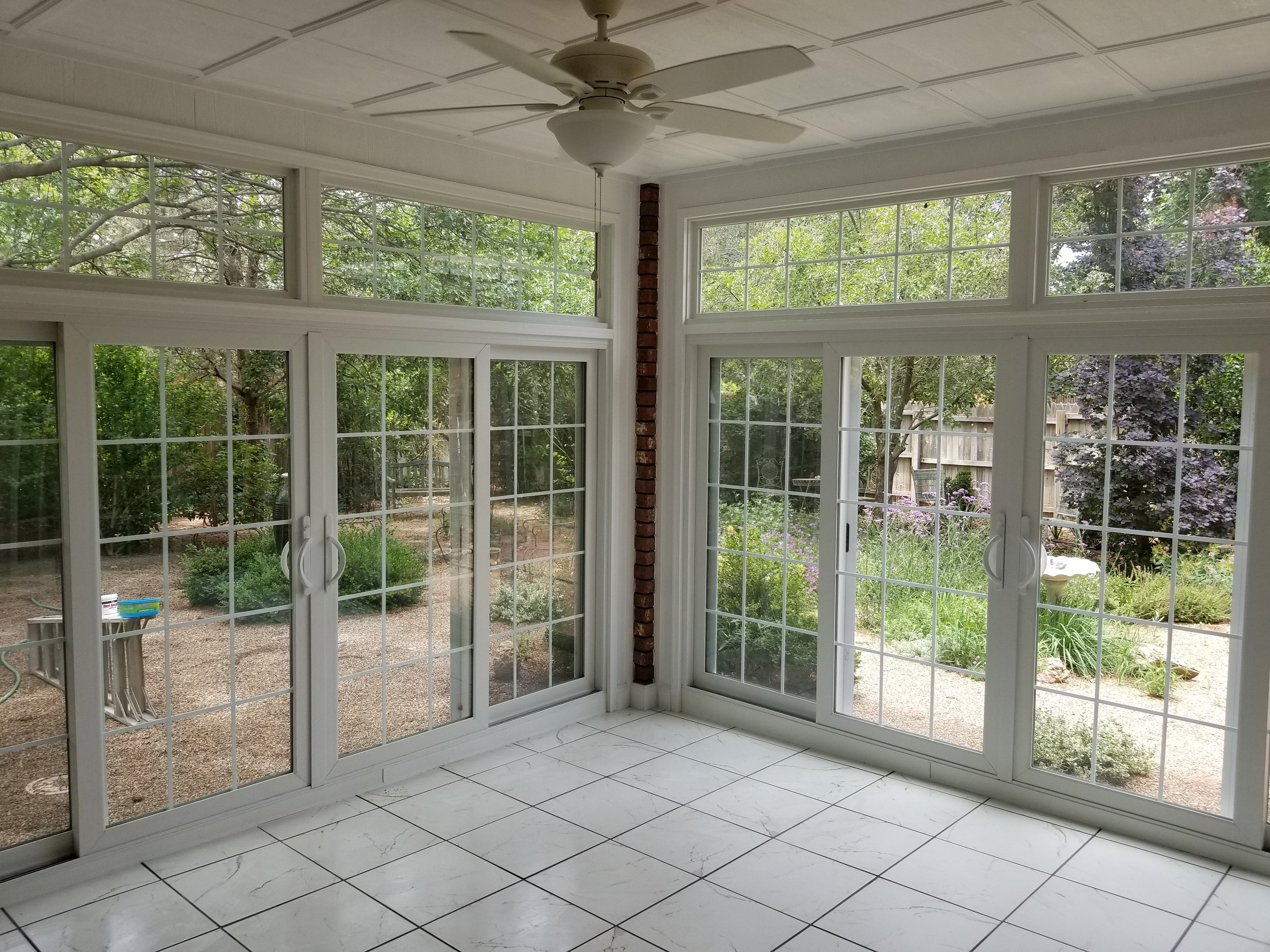 - Room AdditionsEnclosed Sun RoomWe can design and build your dream outdoor space!