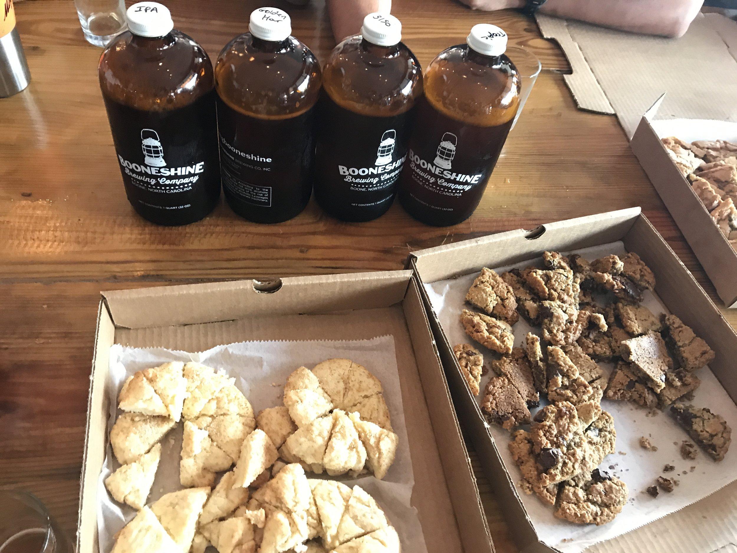 Appalachia Cookie Company - > Cookies: $3> Koozies: Free!> Stickers: Free!Vegan & Gluten Free Options