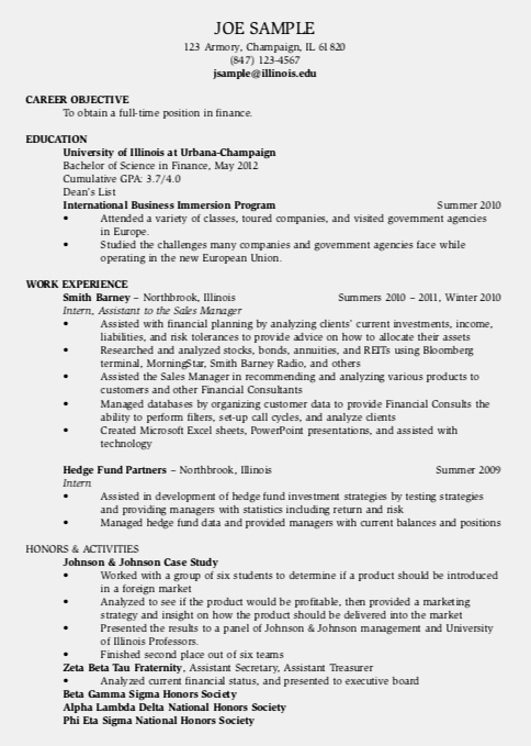 Traditional Resume - It is clean, simple, easily scannable, readable.