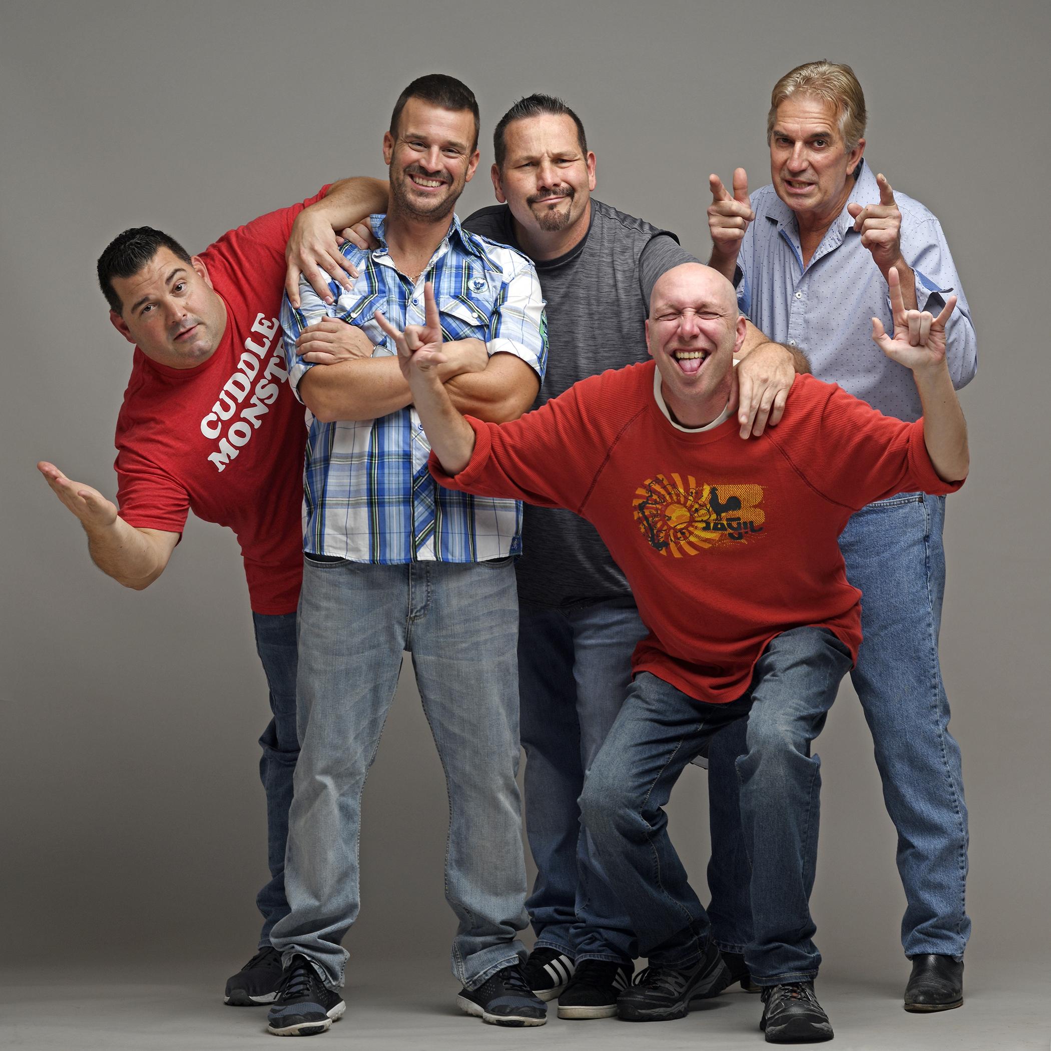 (L-R)  Robert Ruvolo,Brad Perrott, Troy Burbank, Paul Mcgarry and Phillip Kozma