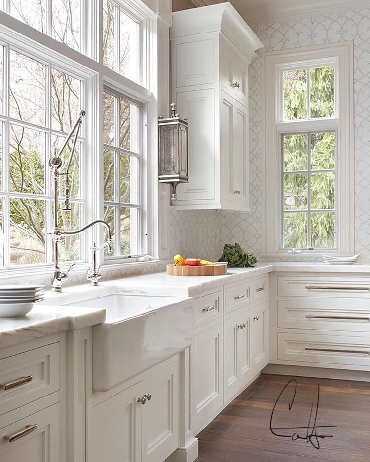 Manchester Kitchen With Farm House Sink & Vermont Marble Countertops.jpg