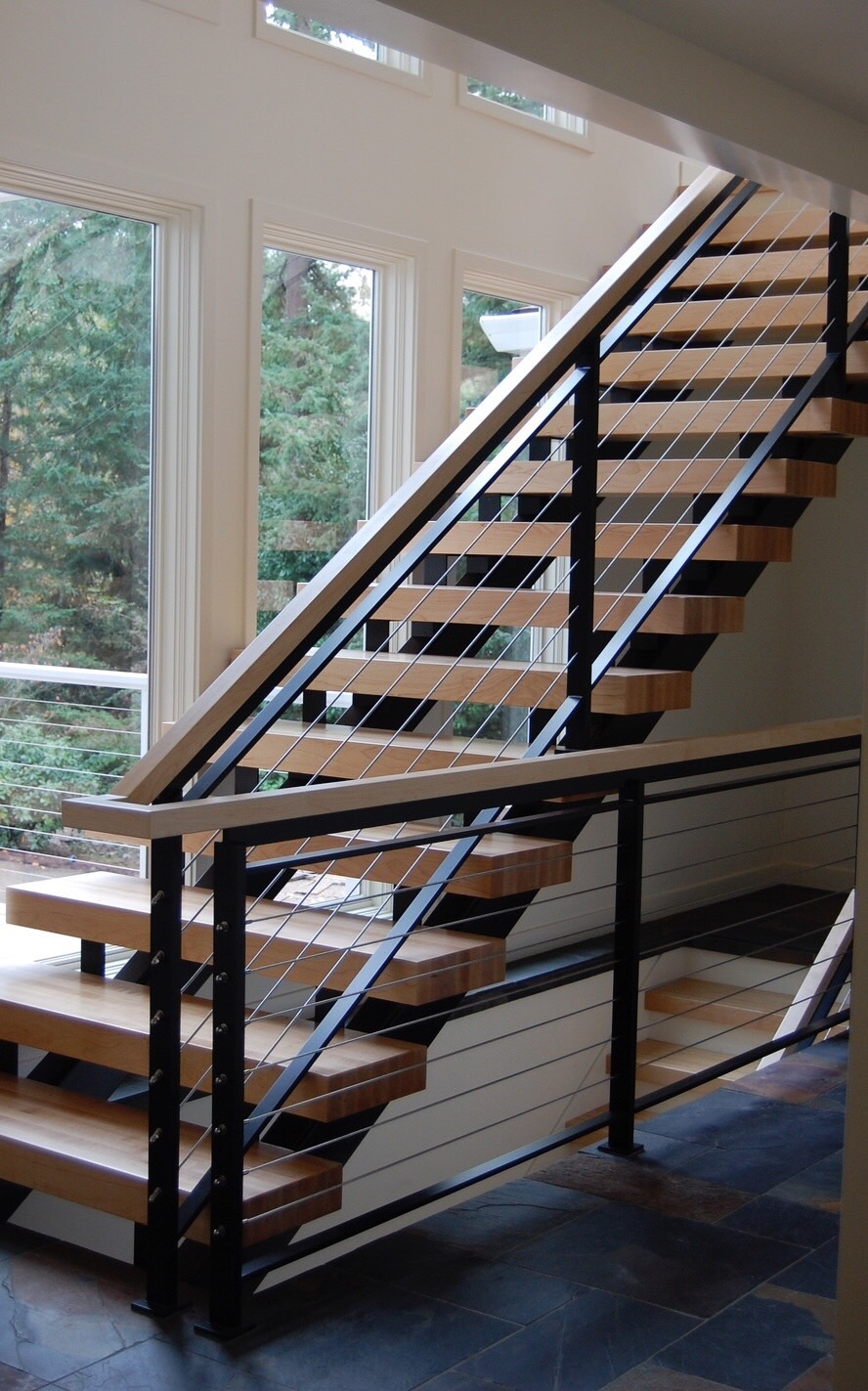 Contemporary Steel And Wood Stair Case.jpg