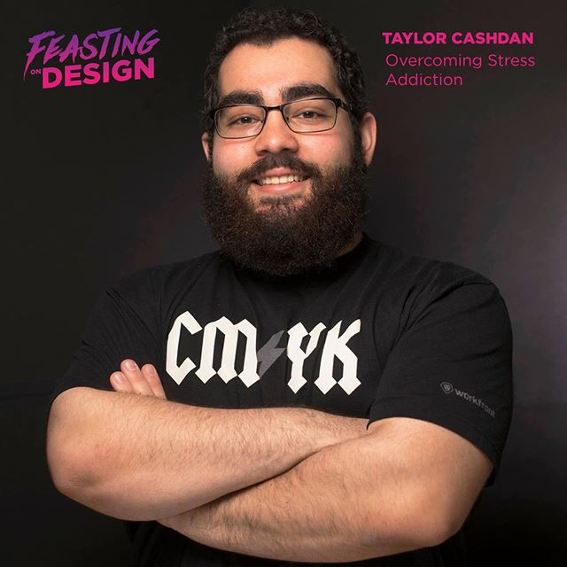 Today on @feastondesign I'm talking with @TaylorCashdan, a Raleigh, North Carolina based design lead for Fidelity. We chat about transitioning into doing more digital design after working in traditional media while he was coming up, building design systems, how he discovered his addiction to stress after it lead to a heart condition, and how he's learned to manage stress since then. https://buff.ly/2KQQPBP⠀ ⠀ Rate, share and subscribe on #iTunes, #applepodcasts, #Stitcher, #Spotify, and #GooglePlay ⠀ ⠀ #Design #Lettering #Illustration #Typography #GraphicDesign #Branding #UserExperience #UserInterface #MotionGraphics #Creativity #Podcasting #podcast #BreakBread #restaurantbranding #menudesign #restaurantdesign #beveragebranding #packagedesign #interview #graphicdesigner #creativepodcast #designer #designpodcast #feastondesign