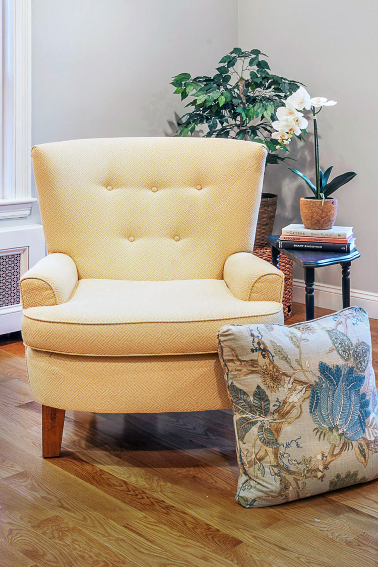 Furniture selection for home styling in Medford, MA.