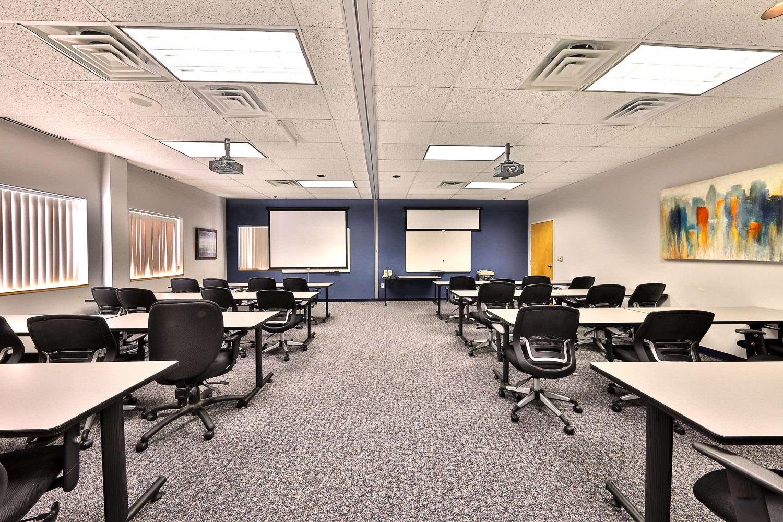Corporate Interior Design Classroom