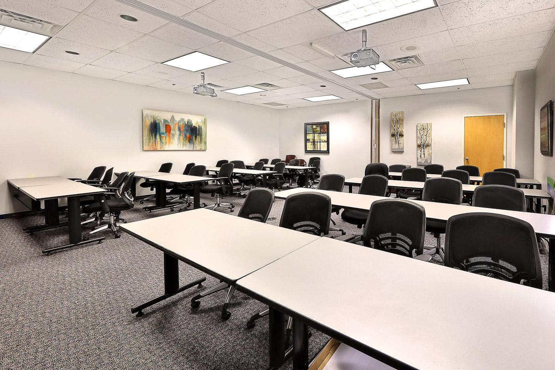 Classroom Interior Design for Evoqua Water Technologies