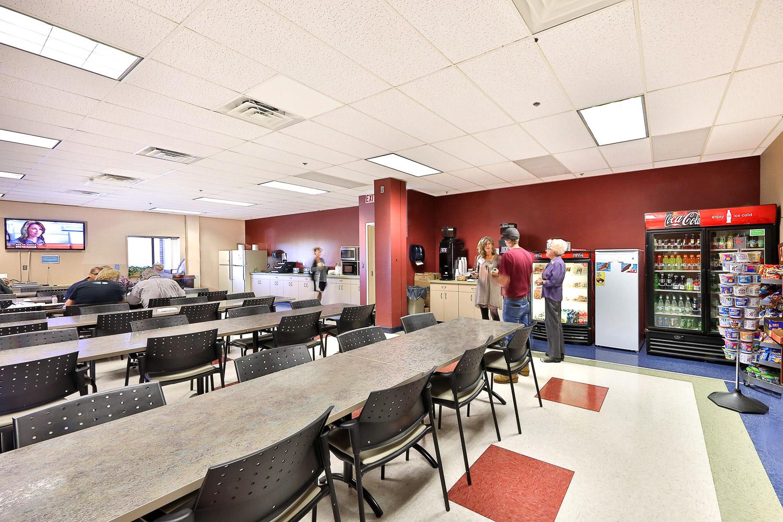 Commercial Interior Design Cafeteria