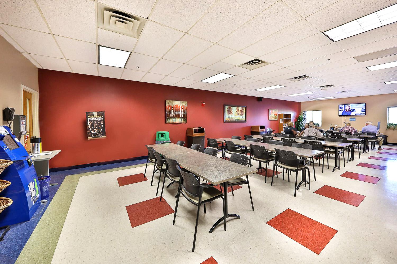 Corporate Cafeteria Interior Design