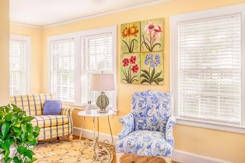 Victorian Sunroom Interior Design, Lowell, MA