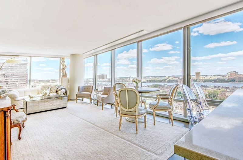 Condominium Interior Design Back Bay Boston, MA